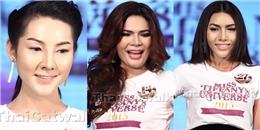 """Sốc với những thí sinh """"xấu lạ"""" của Hoa hậu Chuyển giới 2015"""