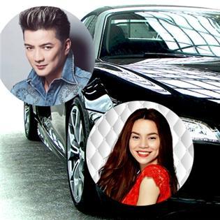 Soi  bộ sưu tập xe hơi của Hà Tăng, Hà Hồ, Đàm Vĩnh Hưng