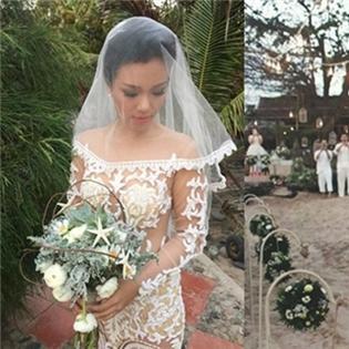 Xúc động với điều đặc biệt ẩn sau chiếc váy cưới của Phương Vy