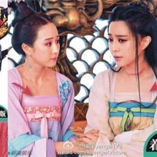 Sốc với thủ thuật che ngực Võ Mị Nương truyền kỳ độc đáo của đài TVB