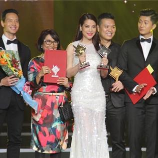 Những  hạt sạn  đáng tiếc trong lễ trao giải Cánh diều vàng 2014