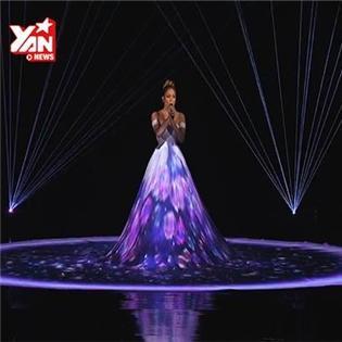 Màn trình diễn thay đổi 10 bộ váy trong 3 phút của Jennifer Lopez gây sốt
