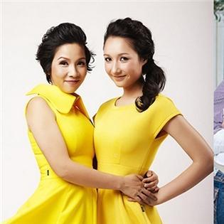 10 mẹ kế, bố dượng mẫu mực của showbiz Việt