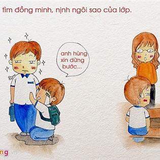 Những màn  dở khóc dở cười  trong giờ kiểm tra của học sinh