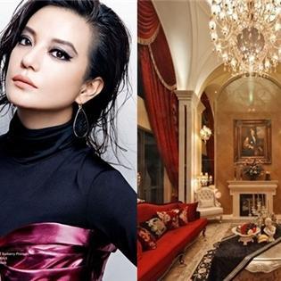 Giai nhân Hoa ngữ  đọ  độ giàu có với những biệt thự siêu khủng