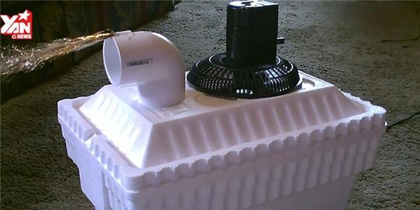 Chế tạo máy lạnh siêu bá đạo cho ngày nắng nóng