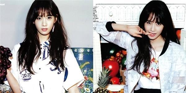"""Yoona (SNSD) """"xinh hơn hoa"""" trên tạp chí Ceci"""