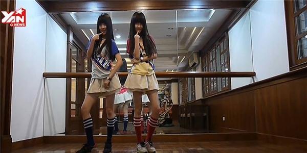 Cặp đôi hotgirl Đài Loan trở lại với phiên bản vũ đạo mới