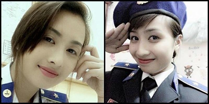 Gặp gỡ nữ thiếu úy xinh đẹp của Cảnh sát biển Việt Nam