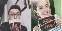 Sao Việt 'rần rần' rủ rê bạn bè cùng tham gia Dragon Dash