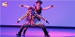 Cặp đôi 11 tuổi nhảy hip-hop xuất sắc hơn cả người lớn
