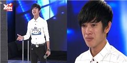 'Hotboy kẹo kéo' khóc tưng bừng vì suýt bị loại trên Vietnam Idol