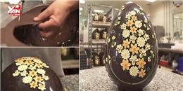 Trố mắt với những quả trứng sô-cô-la khổng lồ