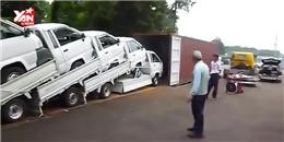 Ngạc nhiên với cách người Nhật xếp 5 ô tô gọn gàng vào... 1 container