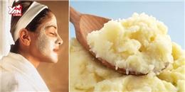Trị thâm cực hiệu quả với khoai tây và sữa tươi
