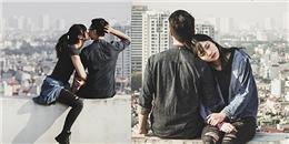 Chuyện tình ngọt ngào của cặp đôi đi khắp Hà Nội hôn nhau