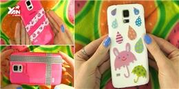 Tự trang trí vỏ điện thoại xinh với băng keo!