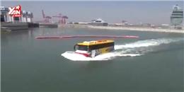 Hàn Quốc: Xe buýt vừa biết chạy vừa... biết bơi