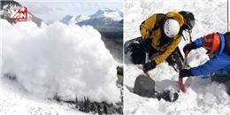 Cận cảnh khoảnh khắc tuyết lở kinh hoàng tại trại leo núi ở Everest
