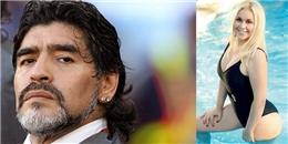 Maradona có nguy cơ bị phát tán clip 'nóng bỏng'?