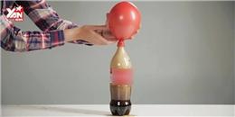 Thổi bong bóng không phải bằng hơi, mà bằng... nước có gas