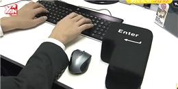 Phát minh mới: nút Enter  vĩ đại  dùng để xả stress