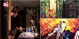 Khâm phục câu chuyện về chàng họa sĩ mù chinh phục thế giới