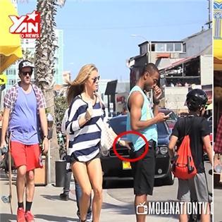 Làm gì khi thấy hot girl móc túi giữa đường?