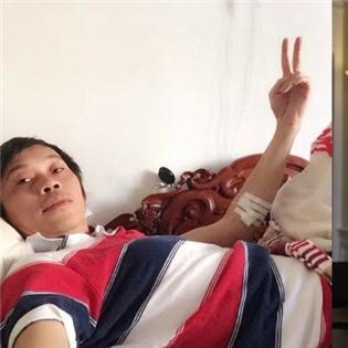 Thu Minh tự nhận không  lanh miệng  bằng Dưa Leo, Hoài Linh bị truyền nước biển