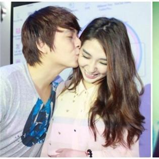 Khoảnh khắc  trao môi hôn  ngọt ngào của các cặp đôi sao Việt