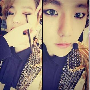 Baekhyun lạ lẫm với hình ảnh trang điểm, Taeyeon đếm ngược ngày phát hành ca khúc mới