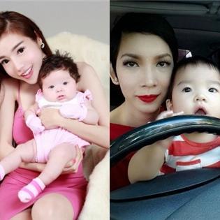 Những  tiểu công chúa  điệu đà thích mặc váy của sao Việt