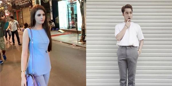 Andrea mặt trắng bệch đi dạo phố, Sơn Tùng tiếp tục làm  thanh niên nghiêm túc