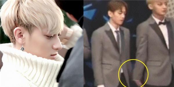 "Hé lộ ảnh Tao (EXO) bị Baekhyun ""hắt hủi"""