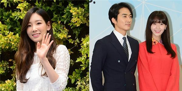 """Taeyeon """"đốn tim"""" fan với hình ảnh nữ tính, Yoona """"xứng đôi"""" bên Song Seung Hun"""