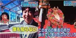 Trương Hinh Dư  bẽ bàng  trên truyền hình Nhật Bản
