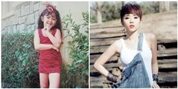 Thích thú ngắm loạt ảnh ngày bé siêu dễ thương của Tóc Tiên