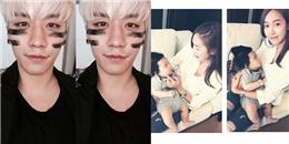 Seungri khoe hình chuẩn bị ra ca khúc mới, Jessica ra dáng bà mẹ trẻ