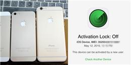 """""""Bí kíp"""" phát hiện iPhone 5, iPhone 5s đã bị """"tân trang"""""""