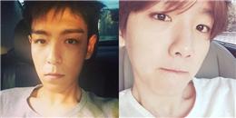 T.O.P khoe hình cắt tóc ngắn, Baekhyun khoe mặt mộc chào đón mùa hè
