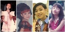 Điểm danh những sao Việt gia nhập showbiz từ nhỏ