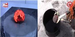 Chuyện gì sẽ xảy ra khi kim loại nung đỏ  se duyên  cùng băng lạnh
