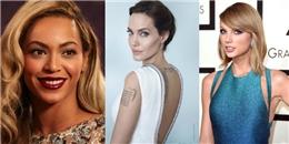Beyonce, Angelina Jolie, Taylor Swift là những người phụ nữ quyền lực nhất thế giới
