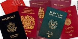 10 điều thú vị về hộ chiếu không phải ai cũng biết