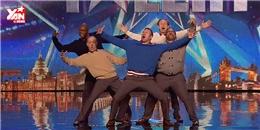 Nhóm nhảy U-50 khiến khán giả truyền hình  bật ngửa