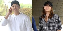 Song Joong Ki đẹp trai  không tì vết  bên Song Hye Kyo sau khi xuất ngũ