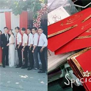 Thỏ Yanny  tung  thiệp cưới, Kiên Hoàng - Heo Mi Nhon  rộn ràng  lễ ăn hỏi