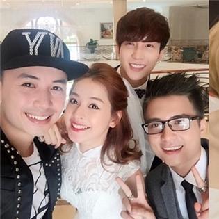Chi Pu bất ngờ làm cô dâu, Quỳnh Anh Shyn cùng Trang Cherry  xúng xính  tham gia