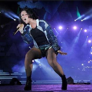 Những khoảnh khắc đẹp rạng rỡ của Demi Lovato tại Việt Nam