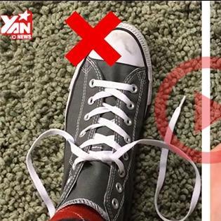 Chúng ta đã buột sai dây giày từ trước đến giờ mà không hề biết!